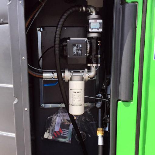 PROFITANK Kingspan Fuelmaster zbiornik FM 5000 litrów wnętrze
