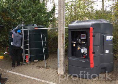 PROFITANK Kingspan połączenie zbiorników