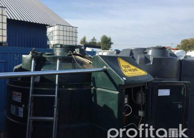 PROFITANK Kingspan połączenie zbiorników i ich czyszczenie