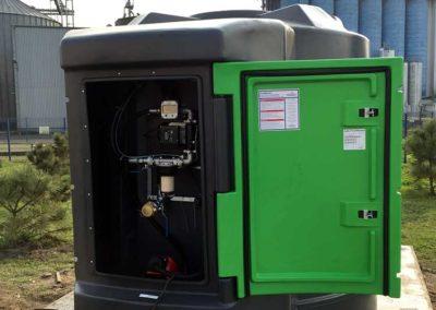 PROFITANK Zbiornik Kingspan FM 5000L u klienta standard 2 plus zwijadło